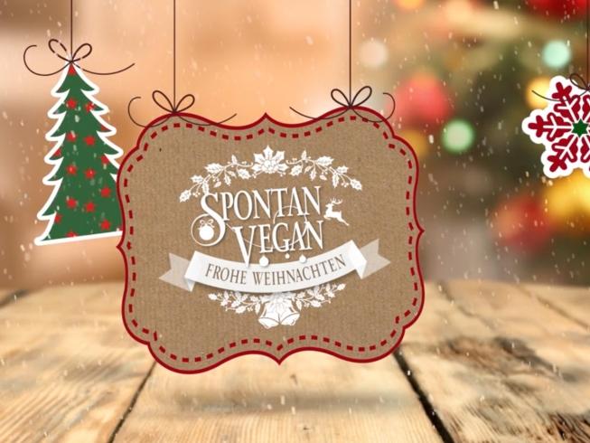 Spontan Vegan Weihnachten